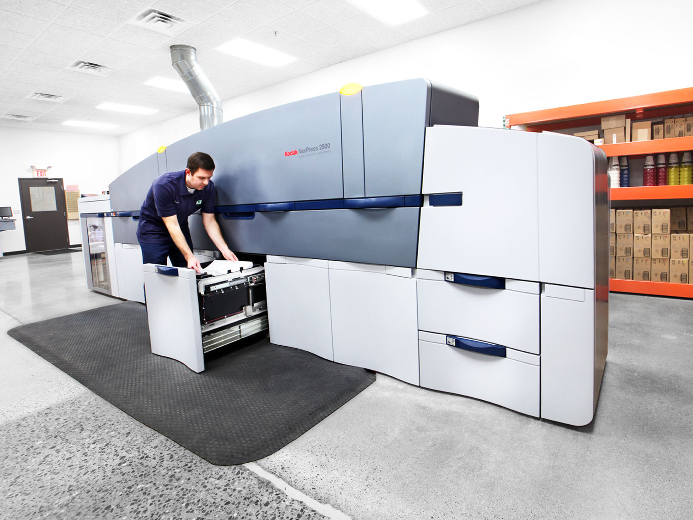 Kodak NexPress Digital Printing Press